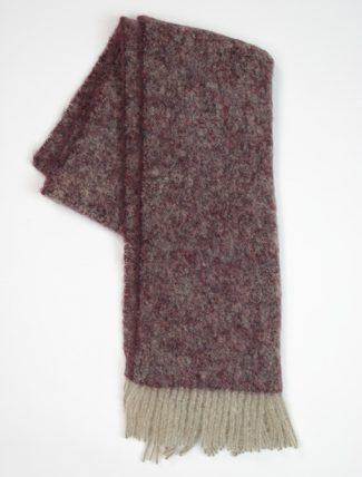 Camerucci 4923 bordeaux scarf