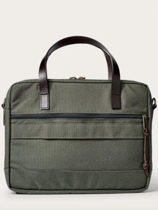 Filson Dryden Briefcase Green retro