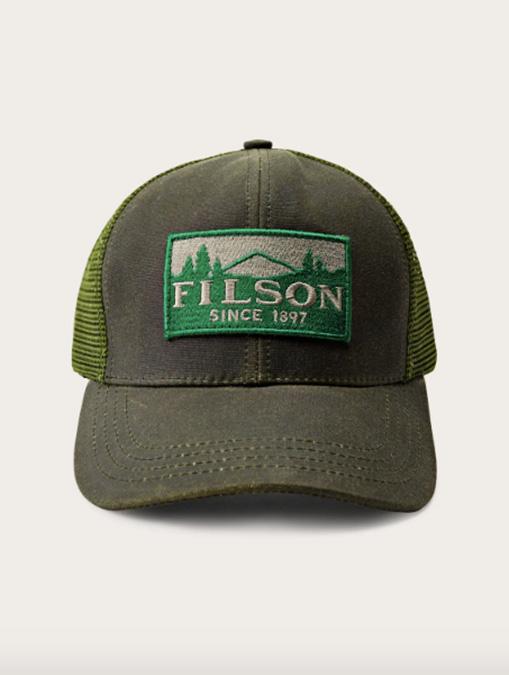 Filson Logger Mesh Cap Otter Green