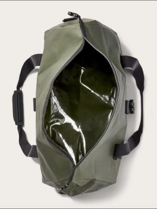 Filson Medium Dry Duffle Bag Green inside detail