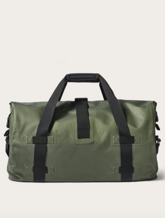 Filson Medium Dry Duffle Bag Green back detail