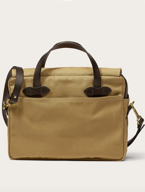 Filson borsa Original Briefcase Tan retro