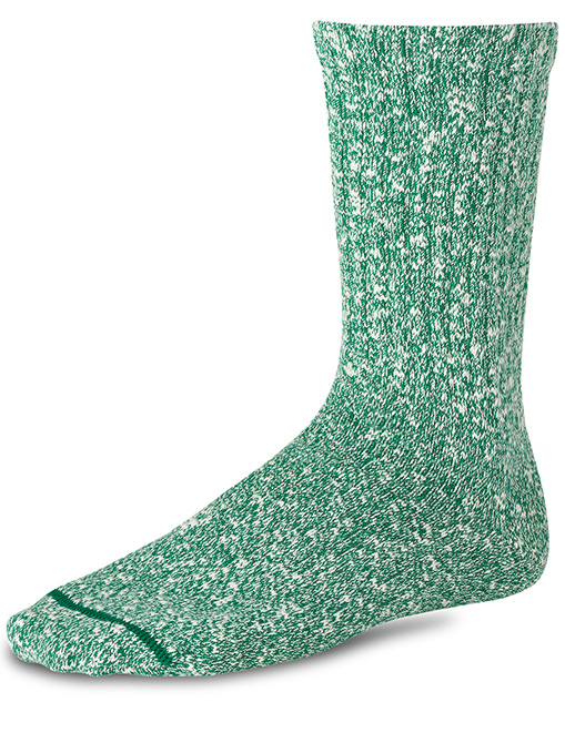 Red Wing 97245 socks cotton rag Green White