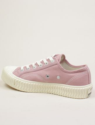 Excelsior Sneakers Bolt lo shoes Pink Canvas dettaglio laterale