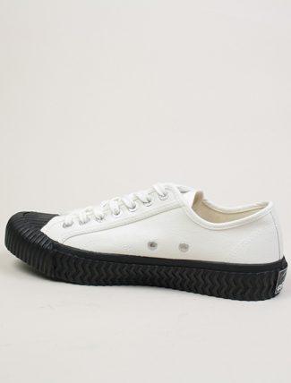 Excelsior Sneakers Bolt lo shoes White blk Canvas dettaglio interno