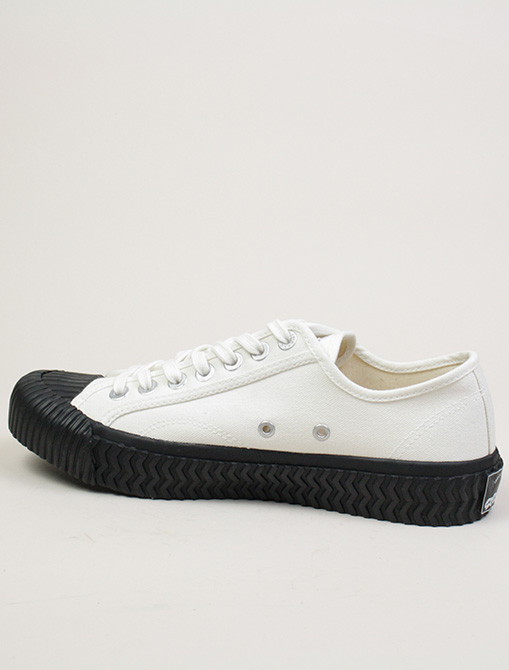 Excelsior Sneakers Bolt lo shoes White blk Canvas dettaglio interno