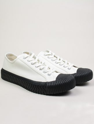 Excelsior Sneakers Bolt lo shoes White blk Canvas paio