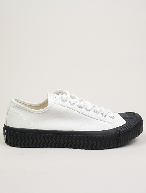Excelsior Sneakers Bolt lo shoes White blk Canvas