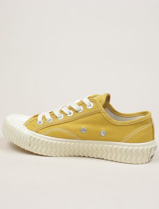 Excelsior Sneakers Bolt lo shoes Yellow Canvas dettaglio laterale