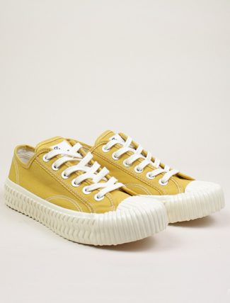 Excelsior Sneakers Bolt lo shoes Yellow Canvas paio
