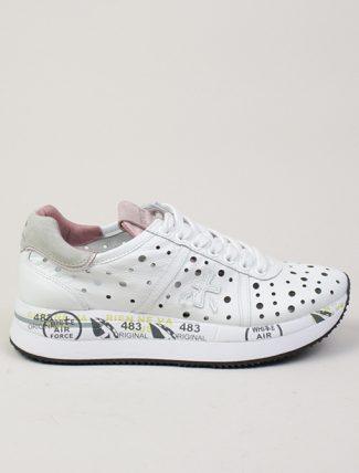 Premiata sneakers Conny 4728 bianca