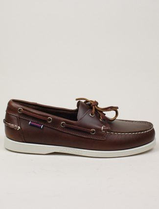 Sebago Dockside Portland Waxed Brown