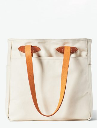 Filson Rugged Twill Tote Bag Natural