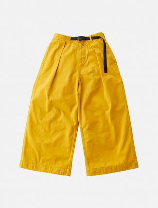 Gramicci Baggy Pants Yellow