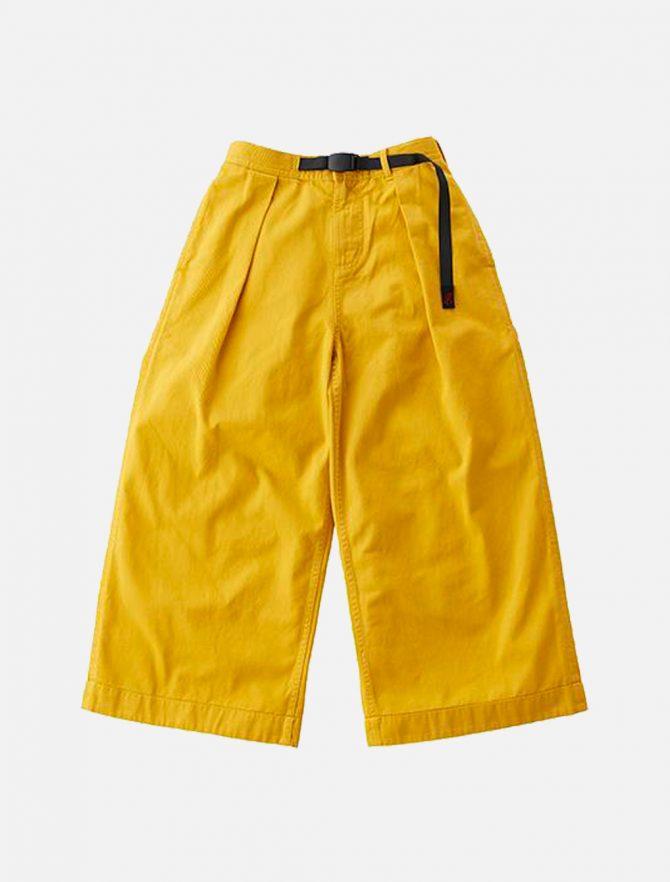 Gramicci Baggy Pants Yellow