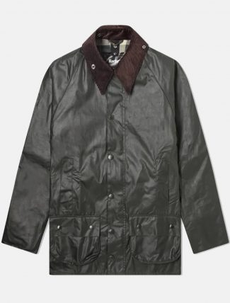 Barbour Beaufort Wax Jacket Sage