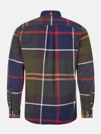 Barbour Tartan Shirt Dunoon Shirt retro