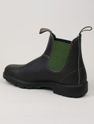 Blundstone 519 Original Brown Olive side detail