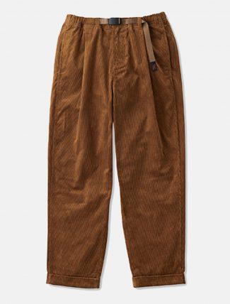 Gramicci Corduroy Tuck Pants Camel