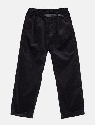 Gramicci Corduroy Tuck Tapered Pants Black