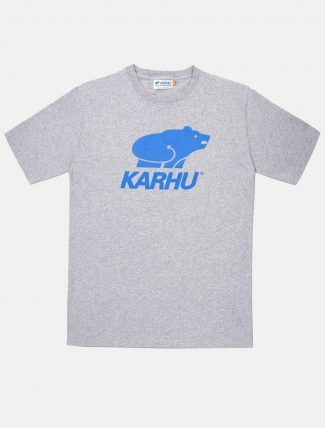 Karhu Basic Logo T-Shirt Grey Royal