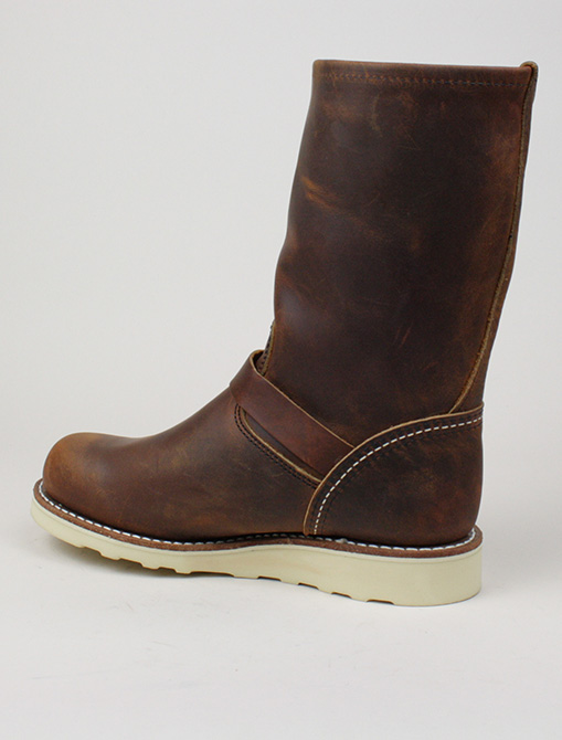 Red Wing 3471 Classic Engineer Copper dettaglio laterale