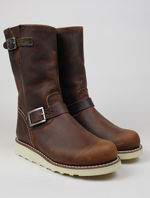 Red Wing 3471 Classic Engineer Copper paio