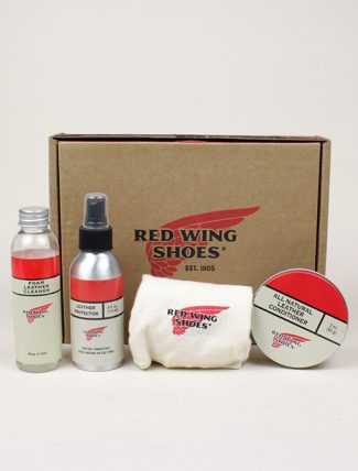Red Wing 97096 Oil Tanned Leather Care Product Kit