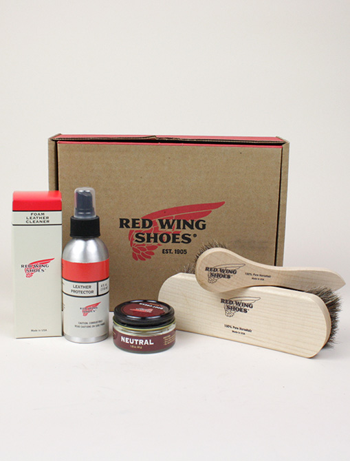 Red Wing 97097 Smooth Finished Leather Product Care Kit