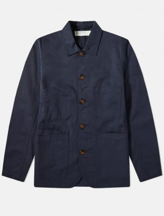 Universal Works Baker Jacket Navy