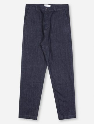Universal Works Military Chino Selvedge Denim Indigo