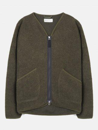 Universal Works Zip Liner Jacket Olive
