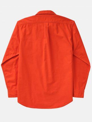 Filson Fiel Flannel Shirt Pheasant Red retro