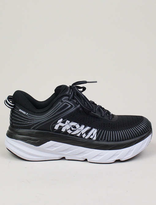 Hoka One One W Bondi 7 Black White