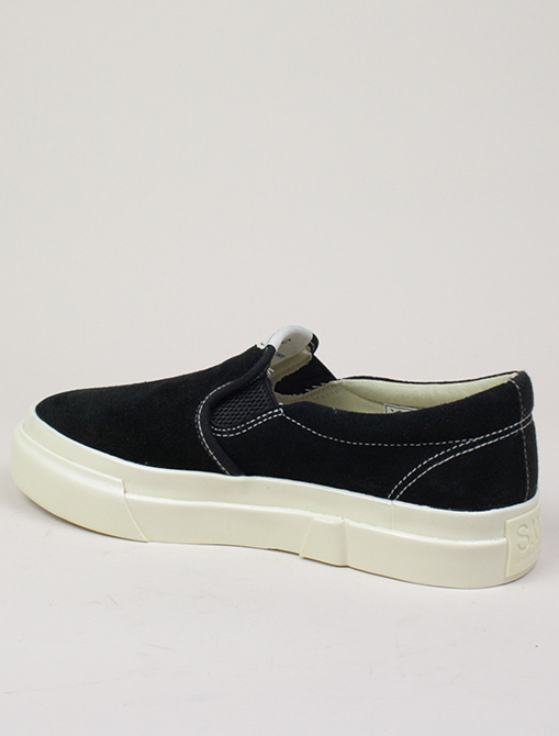 Stepney Workers Club Lister Suede Black dettaglio laterale