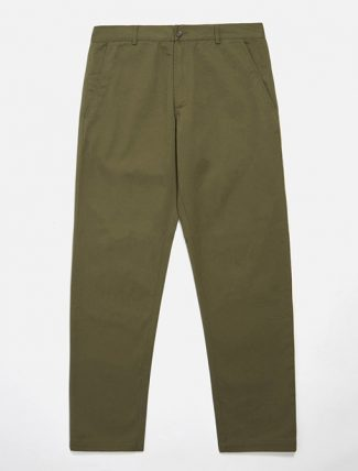 Universal Works Aston Pant Light Olive Twill