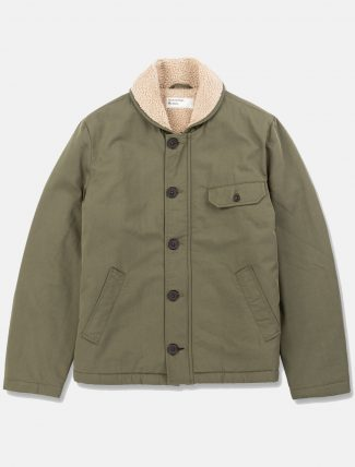 Universal Works N1 Jacket Twill Light Olive