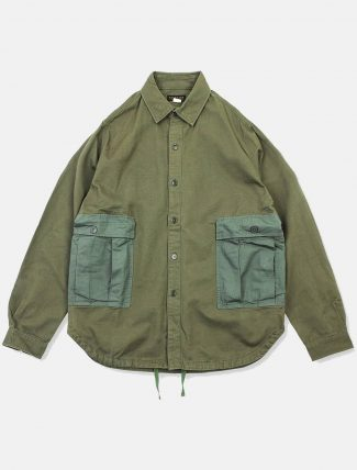 WorkWare M51 Patch Shirt Olive