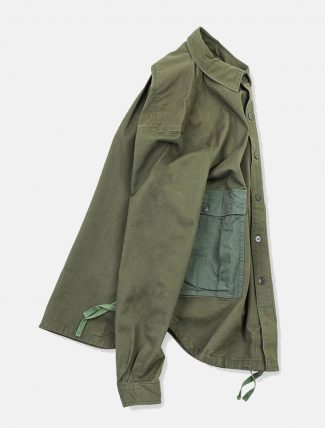 WorkWare M51 Patch Shirt Olive laterale
