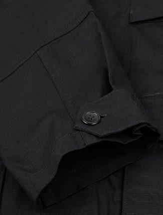 WorkWare Vietnam Jacket Black dettaglio polsino