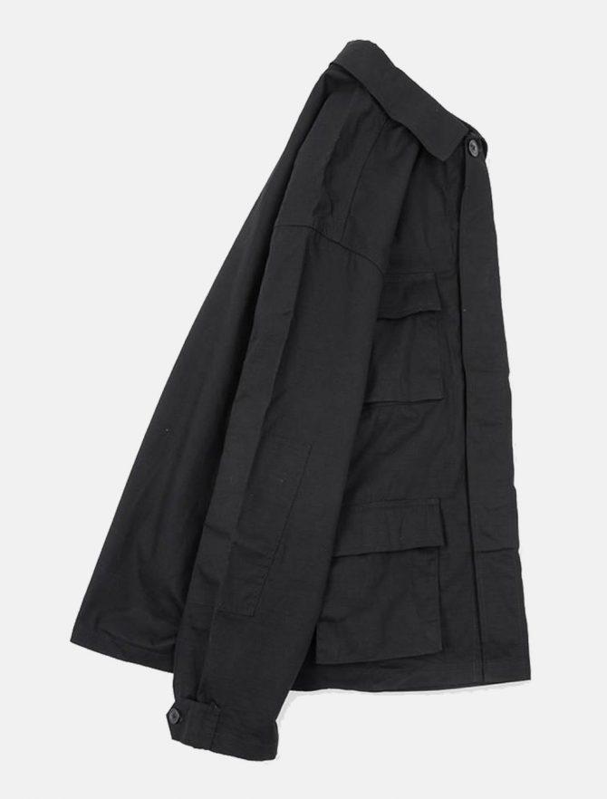 WorkWare Vietnam Jacket Black dettaglio laterale