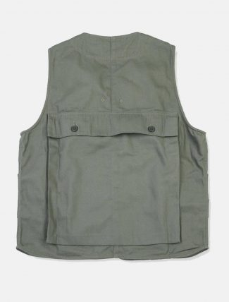 Workware Hunting Vest Green retro