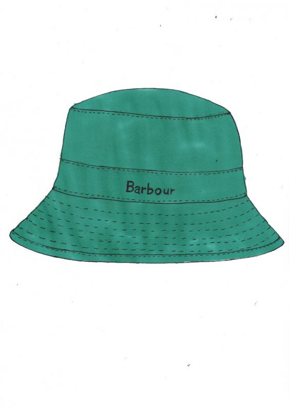 Barbour Wax Hat olive blog
