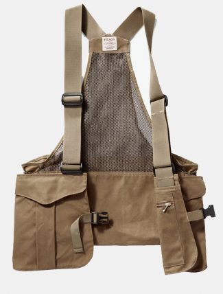 Filson Mesh Game Bag Dark Tan dettaglio