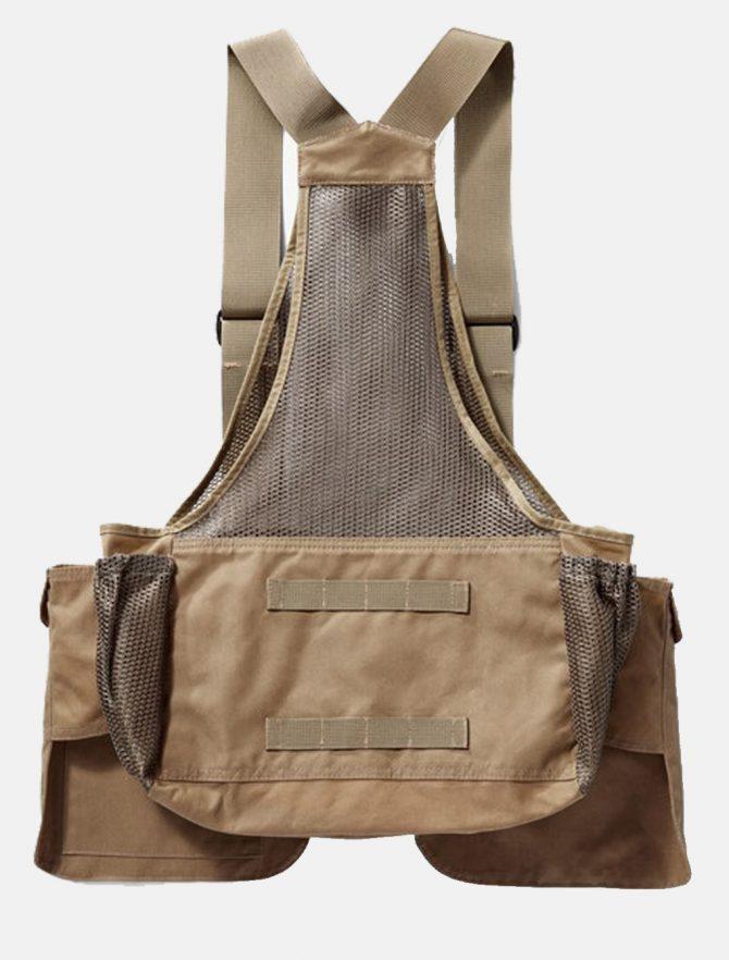 Filson Mesh Game Bag Dark Tan retro