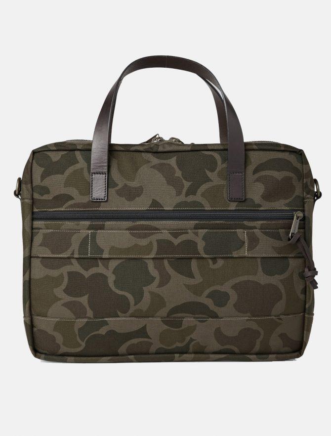 Filson Dryden Briefcase Dark Shrub Camo retro