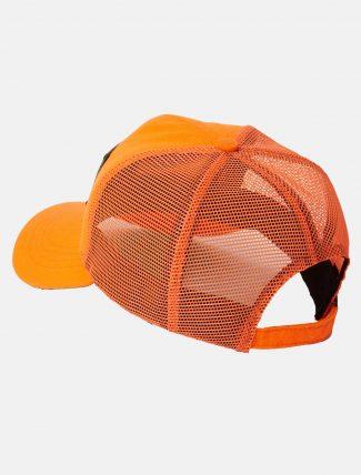 Filson Logger Mesh Cap Blaze Orange retro