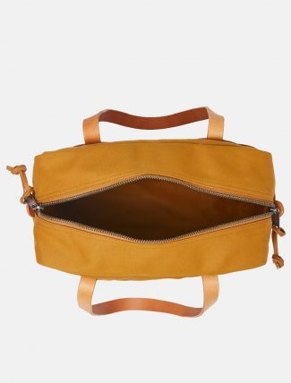Filson Tote Bag W Zipper Chessie Tan dettaglio