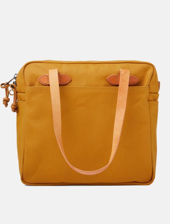 Filson Tote Bag W Zipper Chessie Tan retro