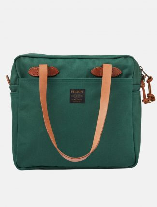 Filson Tote Bag W Zipper Hemlock